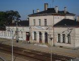 Choszczno - budynek dworca kolejowego