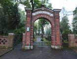 Pszczyna - Cmentarz ewangelicki - brama