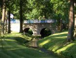 Most z XVII wieku w Dobrodzieniu w parku krajobrazowym