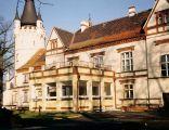 Elewacja południowa zamku w Toporowie