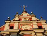 Fasada kościoła Matki Boskiej Łaskawej w Warszawie