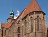 Gotycki kościół pw. św. Jakuba w Ośnie Lubuskim