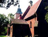 Gruta - kościół Wniebowzięcia NMP