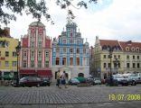 Kamienice przy Rynku Siennym w Szczecinie