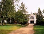 Kaplica na wyspie w Studzienicznej, koło Augustowa
