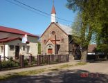 Kościół i plebania w Redle