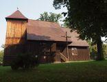 Biskupice, kościół p.w. św. Jana Chrzciciela, XVII w.