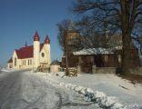 Kościoły w Czermnej - drewniany z 1520 roku, a drugi nowy