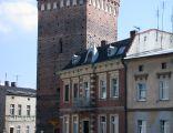 Biała - baszta - pozostałość dawnych murów miejskich