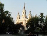 Neobarokowy kościół św. Lamberta w Radomsku
