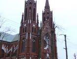 Neogotycki kościół katolicki pod wezwaniem Matki Boskiej Anielskiej w Lipsku
