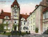 Niestniejący zamek w Złocieńcu po przebudowie w 1906r