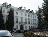 Pałac Chodkiewiczów w Warszawie - od dziedzińca
