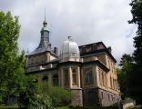 Pałac w Damnicy, widok od strony parku