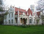 Pałacyk neogotycki w Gorajowicach - Jasło