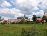 Panorama Klasztoru Cystersów w Sulejowie - Podklasztorzu