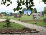 Park Zabytków Warmii i Mazur w Gierłoży. Widok ogólny