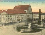 Plac św. Józefa w Kaliszu, ok. 1900