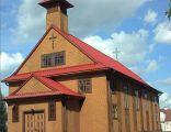 Platerów - Drewniany kościółek zbudowany w 1927 roku