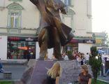Pomnik Jana Kiepury na Placu Stulecia w Sosnowcu