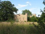 Pozostałości pałacu w Szczodrem