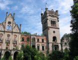 Ruiny pałacu w Kopicach