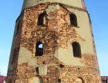 Ruiny zabytkowego młyna w Polkowicach