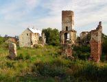 Ruiny zamku z XVI w. w miejscowości Smolec