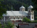 Sanktuarium maryjne - kościół i klasztor w Bardzie