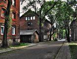 Ulica Głowackiego na terenie osiedla Borsiga w Zabrzu