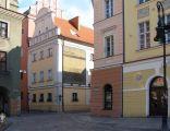 Widok na Pałac Górków ze Starego Rynku w Poznaniu