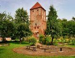 Wieża zamkowa zamku krzyżackiego w Przezmarku