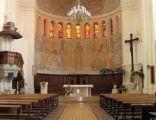 Wnętrze kośćioła pod wezwaniem św. Wojciecha w Białymstoku