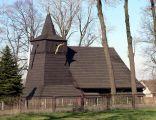 Zabytkowy drewniany kościół św. Rocha w Zamarskach