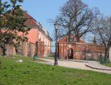 Zamek królewski w Poznaniu - Widok od podzamcza