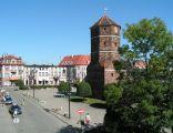 Żnin, XV-wieczna wieża ratuszowa na rynku
