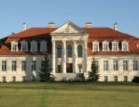 Pałac w Winnej Górze, elewacja frontowa