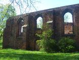 Ruiny kościoła św. Ducha w Jarocinie