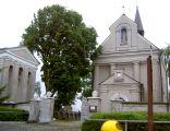 Kościół parafialny z dzwonnicą w Łaszczowie