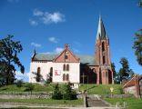 Kościół neogotycki z 1891 r,. w Główczycach