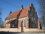 Gotycki kościół w Szreńsku