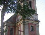 Klasycystyczny kościół w Kamieńcu Suskim