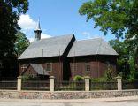 Gąsawa, XVII-wieczny kościółek modrzewiowy pw. św. Mikołaja