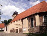 Kościół w i muzeum Olsztynku