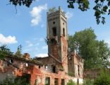 Ruiny pałacu w Pudłowcu