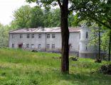 Pałac w Birczy. Fasada wschodnia