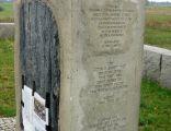 Obelisk w Jedwabnem, upamiętniający tragedię zamordowanych Żydów