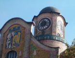 Wieża zegarowa IV LO w Bytomiu