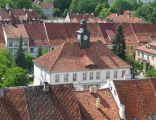 Widok z wieży na Ratusz w Reszlu
