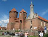 Zamek w Reszlu - widok z przodu